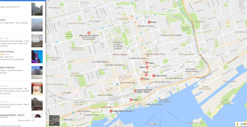 Rogers mobile Local optimization